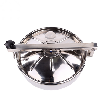 Hot-sale Sanitary Stainless Steel Round Non Pressure Manhole Cover