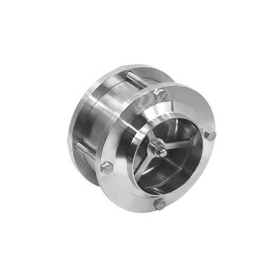 Stainless Steel Flange Type NRV Sanitary Check Valve