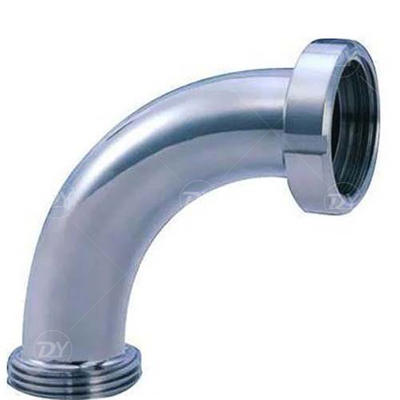 Sanitary Stainless Steel thread Elbow Pipe Fittings