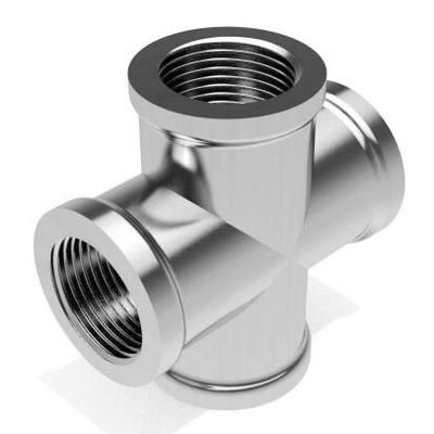 Sanitary Stainless Steel Thread Cross