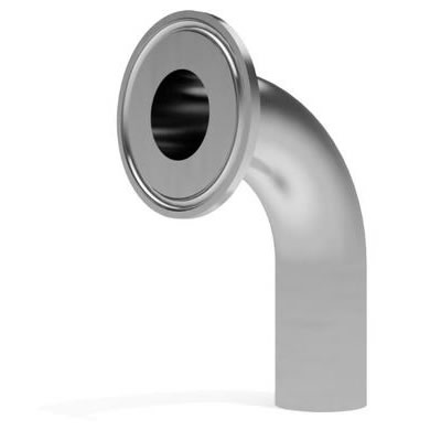Stainless Steel Pipe fitting Welding Welded- Triclamp Elbow