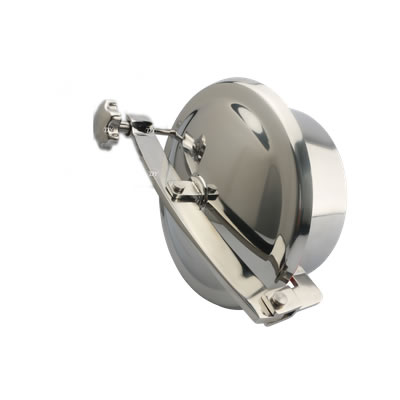 China Sanitary Stainless Steel Round Non Pressure Manhole Cover Without Pressure