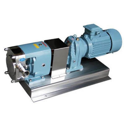 Sanitary Stainless Steel Rotary Lobe Gear Constant Speed Ratio Rotor Pump