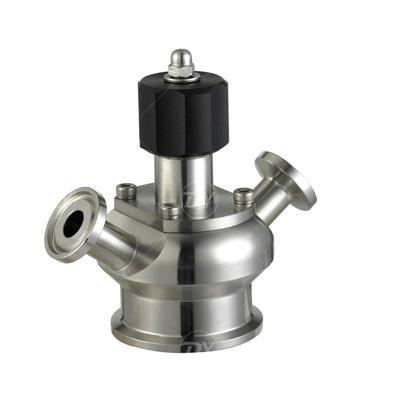 Sanitary Food Processing aseptic sample cock Valve