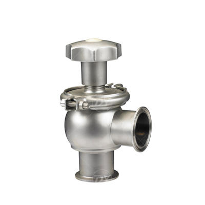Sanitary SS L type Manual Flow Reversing Valve